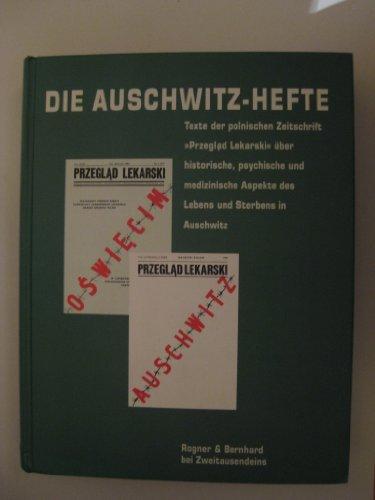 """9783807702827: Die Auschwitz-Hefte: Texte der polnischen Zeitschrift """"Przeglad lekarski"""" über historische, psychische und medizinische Aspekte des Lebens und Sterbens in Auschwitz (Hamburger Dokumente)"""