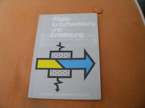 9783807880907: Abgas-Entschwefelung und -Entstickung. Nachtragsband zu