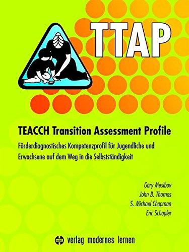 9783808007877: TTAP - TEACCH Transition Assessment Profile