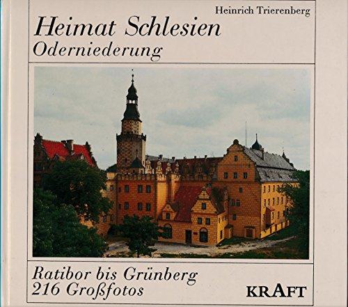 9783808310298: Heimat Schlesien: Oderniederung : von Ratibor bis Grünberg, Wiedersehen mit dem Schlesierland : Bildband (Heimatlandschaften) (German Edition)