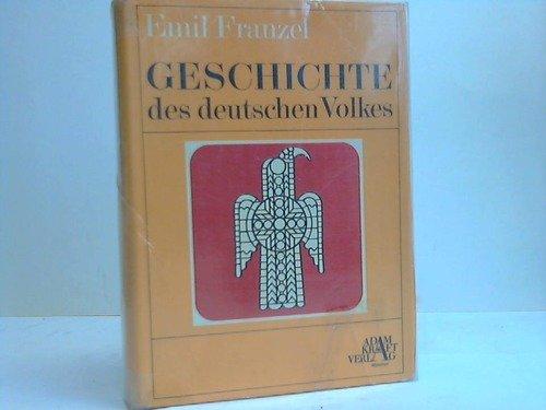9783808311325: Geschichte des deutschen Volkes