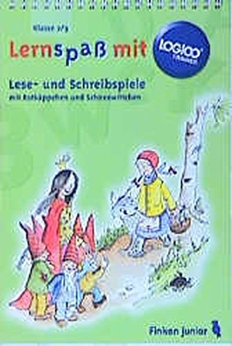 9783808445105: Logico Trainer. Lese- und Schreibspiele mit Rotkäppchen und Schneewittchen.