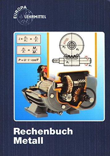 Rechenbuch Metall. Lehr- und Übungsbuch