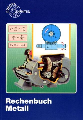 Rechenbuch Metall (Livre en allemand): Roland Kilgus