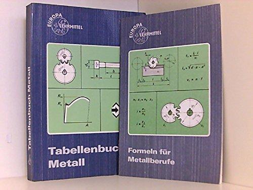 9783808511084: Tabellenbuch Metall (Mit Formelsammlung)