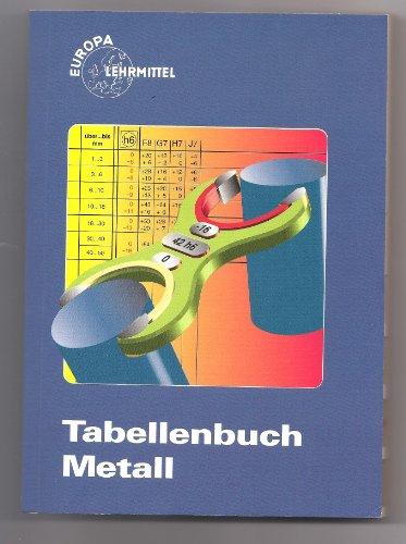 9783808511091: Tabellenbuch Metal