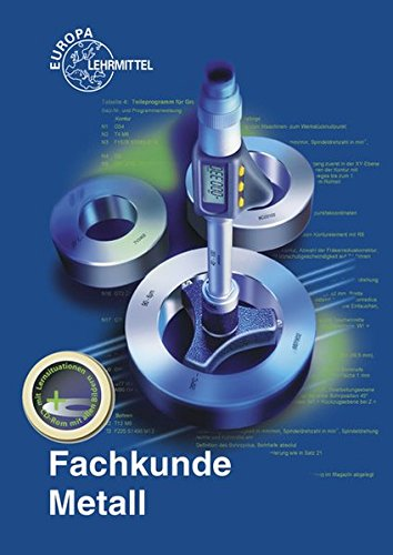 9783808511572: Fachkunde Metall mit CD-ROM