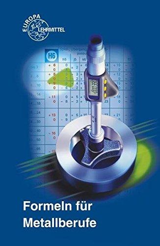 9783808512104: Formeln für Metallberufe