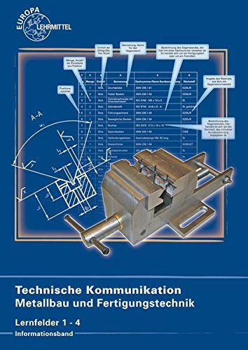 Technische Kommunikation Metallbau und Fertigungstechnik Lernfelder 1-4: Frank Köhler