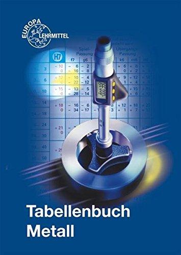 9783808516744: Tabellenbuch Metall (ohne Formelsammlung)