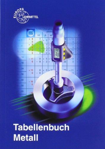 9783808516751: Tabellenbuch Metall (ohne Formelsammlung)