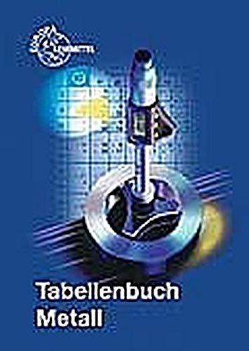 9783808517239: Tabellenbuch Metall (mit Formelsammlung)