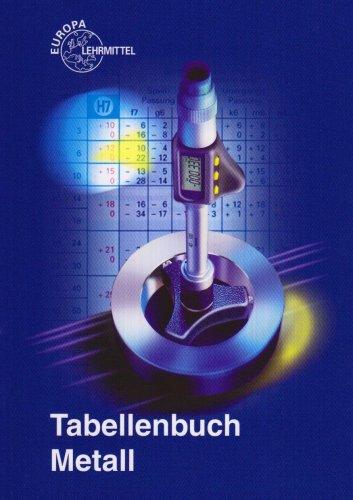 9783808517246: Tabellenbuch Metall (mit Formelsammlung)