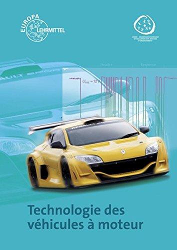 9783808522226: Technologie des vehicules a moteur