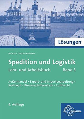9783808522660: Lösungen zu 72655 - Spedition und Logistik 03