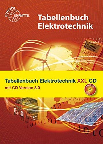 9783808530498: Tabellenbuch Elektrotechnik XXL mit CD