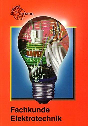 9783808531570: Fachkunde Elektrotechnik. (Lernmaterialien)