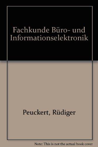 9783808532850: Fachkunde Büro- und Informationselektronik. Mit Medientechnik (Lernmaterialien)