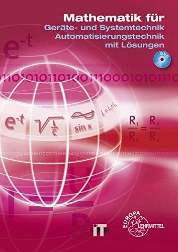 9783808533994: Mathematik für Elektroniker. Geräte- und Systemtechnik. Automatisierungstechnik mit Lösungen: Lehr- und Übungsbuch mit DVD der Mathematik und des Fachrechnens