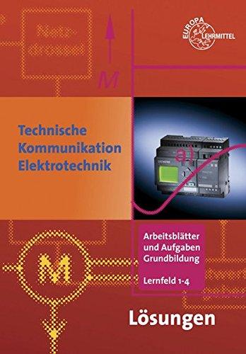 9783808535851: L�sungen zu 35717 - Technische Kommunikation im Berufsfeld Elektrotechnik