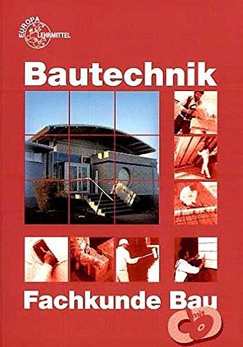 9783808544600: Bautechnik. Fachkunde Bau