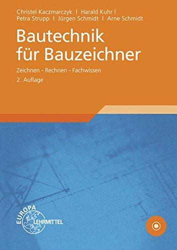9783808546383: Bautechnik für Bauzeichner