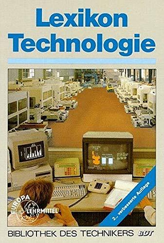 9783808551028: Lexikon Technologie. Metallverarbeitende Industrie.