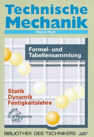 9783808552216: Technische Mechanik Formeln