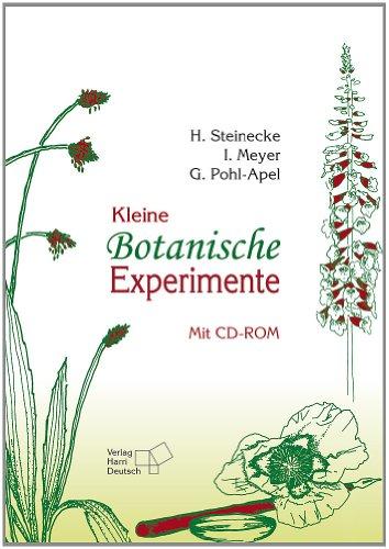 9783808555705: Kleine Botanische Experimente