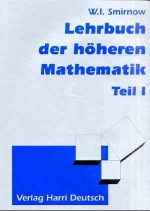 9783808555729: Lehrgang der höheren Mathematik. 5 Bände