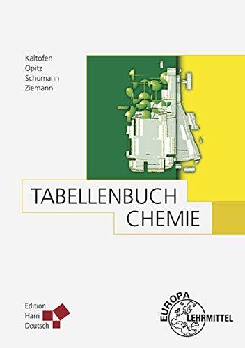 9783808556627: Tabellenbuch Chemie