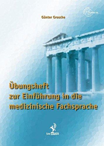 9783808568187: Übungsheft zur Einführung in die medizinische Fachsprache