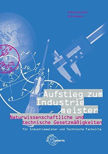9783808580264: Aufstieg zum Industriemeister