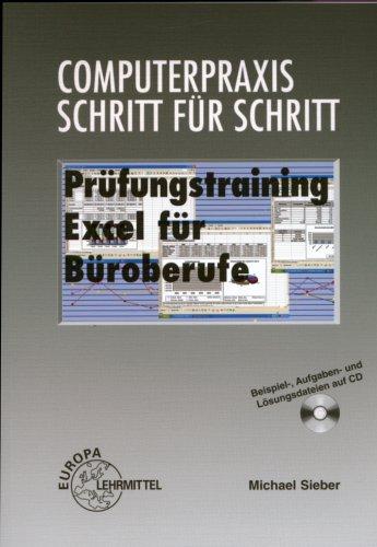 9783808582756: Prüfungstraining Excel für Büroberufe