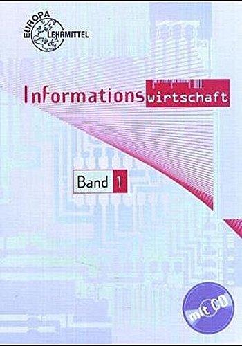 9783808589939: Informationswirtschaft 1. Mit CD-ROM