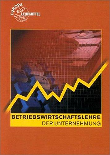 9783808592199: Betriebswirtschaftslehre der Unternehmung. (Lernmaterialien)