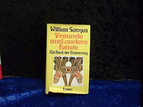 9783809021506: Freunde und andere Leute. Ein Buch der Erinnerung