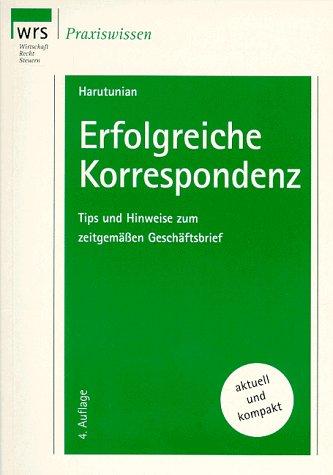 9783809213505: WRS Mustertexte, Bd.9, Erfolgreiche Korrespondenz