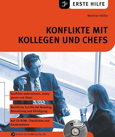 9783809214410: Konflikte mit Kollegen und Chefs, m. CD-ROM