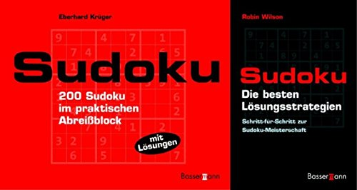 Sudoku-Set. Block und L?sungsbuch: Eberhard Krüger