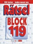 9783809421115: Rätselblock 119