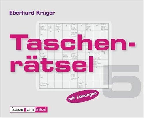 Taschenrätsel 5: Krüger, Eberhard