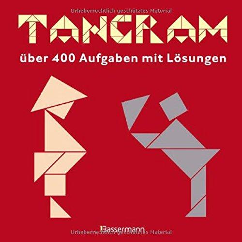 9783809428534: Tangram: über 400 Aufgaben mit Lösungen. Buch und Holzlegespiel