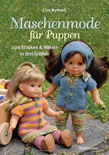 9783809431381: Maschenmode für Puppen. Puppenkleider zum Stricken und Häkeln in drei Größen