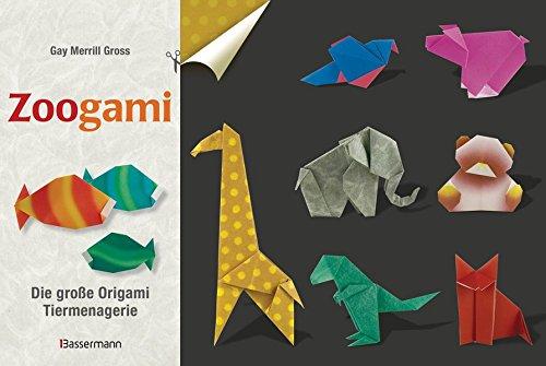 9783809433118: Zoogami-Set: Die große Origami-Tiermenagerie - Buch und 64 Blatt bedrucktes Faltpapier