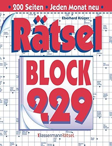 Rätselblock. Bd.229 (Paperback): Eberhard Krüger