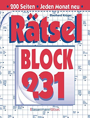 Rätselblock. Bd.231 (Paperback): Eberhard Krüger