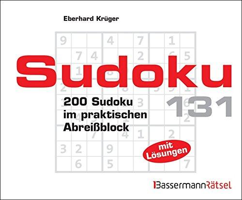 Sudoku Block: 200 Sudoku im praktischen Abreißblock: Eberhard Krüger