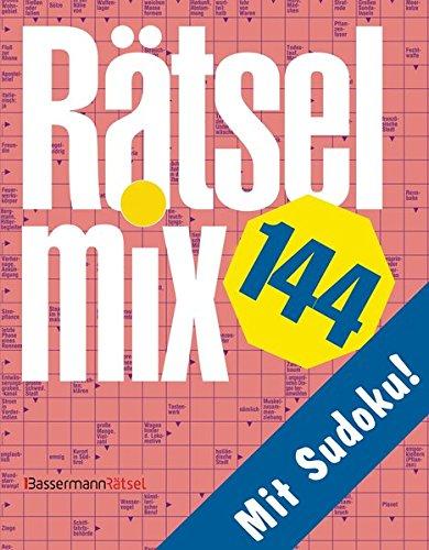 Rätselmix. Bd.144: Mit Sudoku! (Paperback): Eberhard Krüger