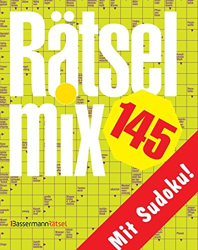 Rätselmix. Bd.145: Mit Sudoku (Paperback): Eberhard Krüger